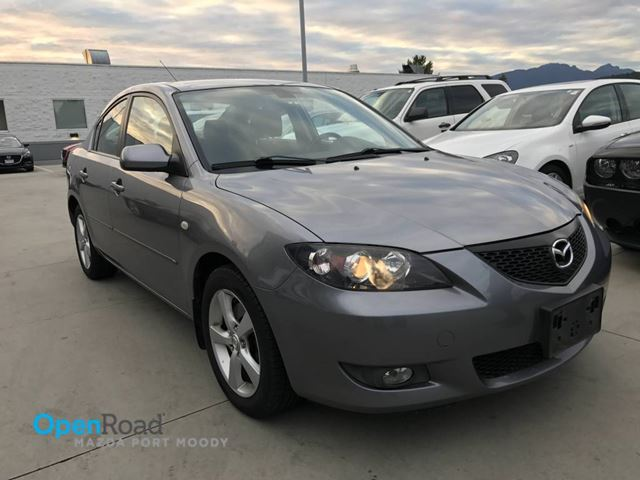 2005 MAZDA MAZDA3 GT A/T No Accident Low Kms Local A/C CD Player  in Port Moody, British Columbia