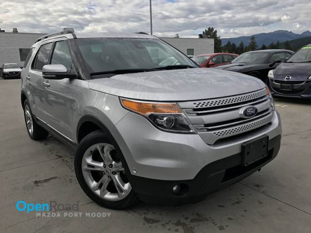 2013 FORD EXPLORER Limited A/T AWD Local Bluetooth AUX Leather Sru in Port Moody, British Columbia