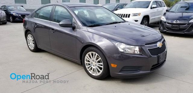 2011 CHEVROLET CRUZE Eco M/T No Accident Local Bluetooth AUX A/C CD  in Port Moody, British Columbia