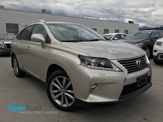 2015 LEXUS RX 350 Sportdesign AWD A/T Bluetooth USB AUX Leather S in Port Moody, British Columbia