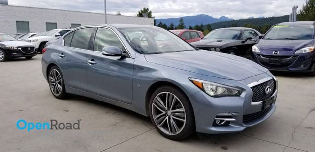 2015 INFINITI Q50  A/T AWD No Accdient Local Low Kms Blueooth USB in Port Moody, British Columbia
