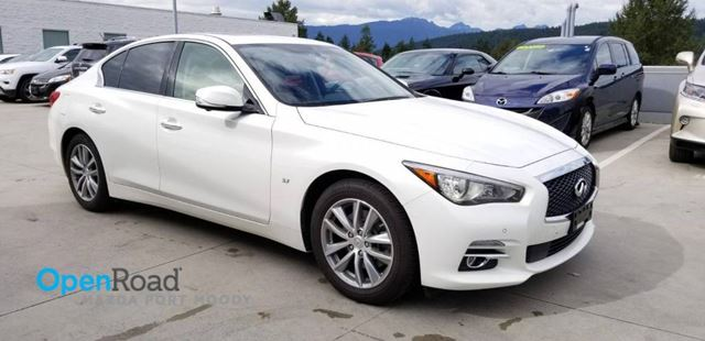 2015 INFINITI Q50 A/T AWD No Accident Local Bluetooth USB AUX Lea in Port Moody, British Columbia