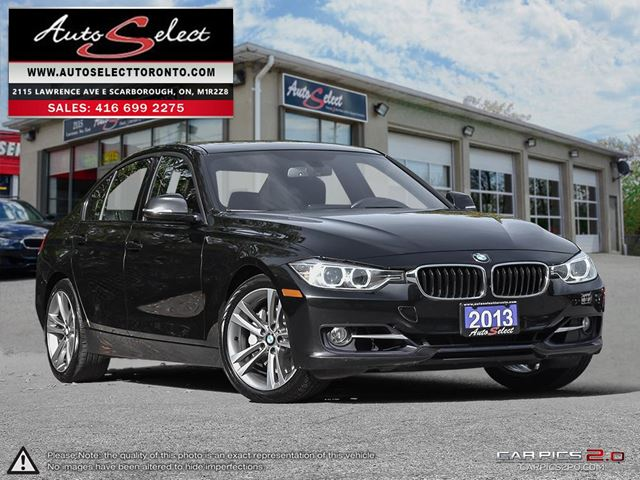 2013 BMW 3 SERIES xDrive AWD ONLY 73K! **TECHNOLOGY PKG** CLEAN CARPROOF in Scarborough, Ontario