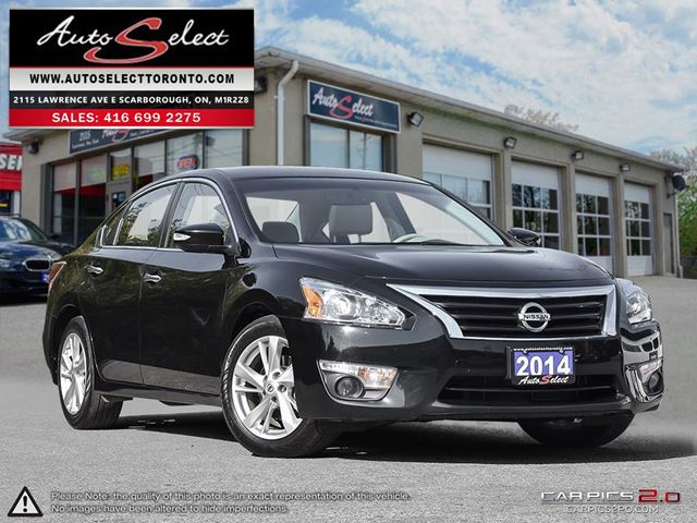 2014 Nissan Altima ONLY 72K! **TECHNOLOGY PKG** SUNROOF **SL MODEL** in Scarborough, Ontario