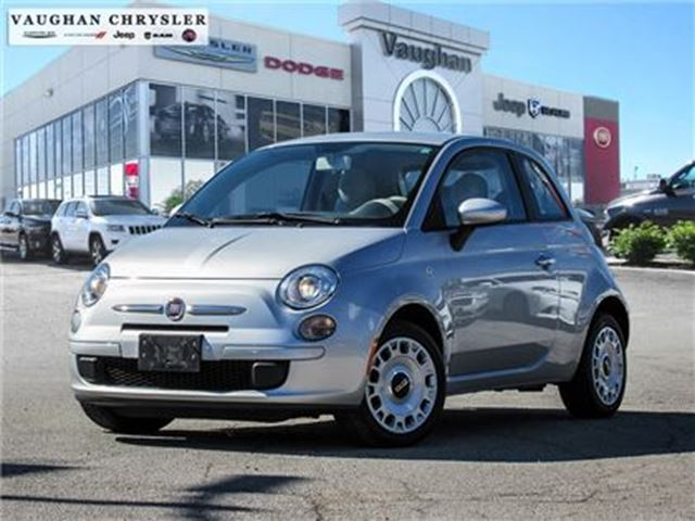 2013 FIAT 500 1 Owner Pop* Only 40657 kms * Automatic in Woodbridge, Ontario