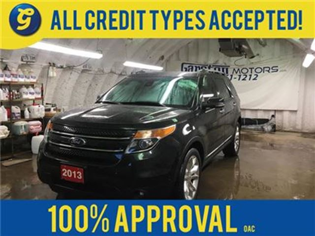 2013 FORD Explorer LIMITED*NAVIGATION*LEATHER*POWER SUNROOF*BACK UP C in Cambridge, Ontario