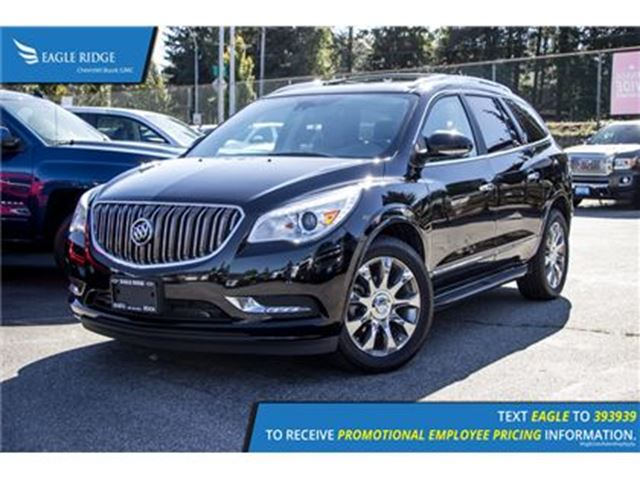 2017 BUICK ENCLAVE Premium Navigation, Sunroof, and Heated Seats Navi in Coquitlam, British Columbia