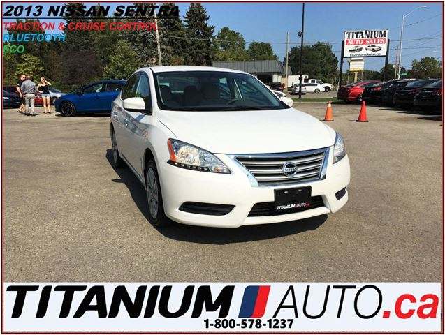 2013 Nissan Sentra BlueTooth+Traction & Cruise Control+ECO & Sport Op in London, Ontario