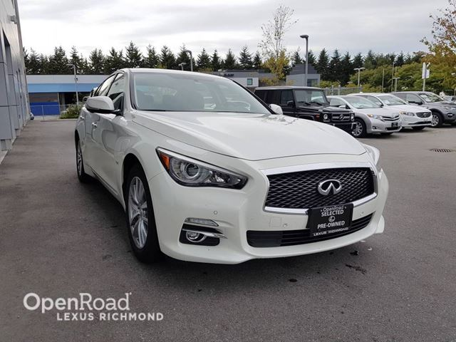 2016 INFINITI Q50 PREMIUM AWD in Richmond, British Columbia