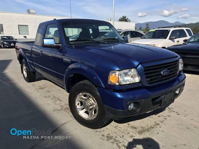 "2008 FORD RANGER Sport RWD M/T Supercab 126"" AUX A/C CD Pla in Port Moody, British Columbia"