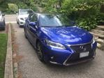 2016 Lexus CT 200h FWD 4dr Hybrid w/Executive Package in Mississauga, Ontario