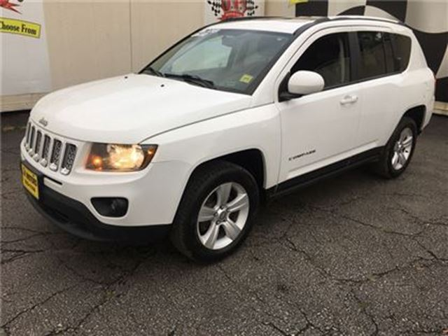 used 2014 jeep compass north automatic leather 4x4. Black Bedroom Furniture Sets. Home Design Ideas