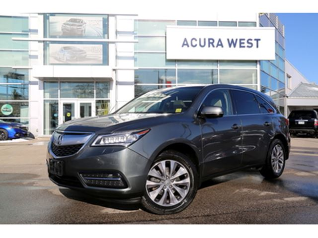 2015 ACURA MDX Technology Package with DVD in London, Ontario