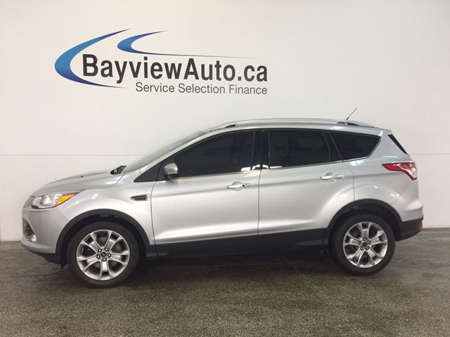 2015 FORD ESCAPE TITANIUM- 4WD|ECOBOOST|PANOROOF|HTD LTHR|NAV|SONY! in Belleville, Ontario