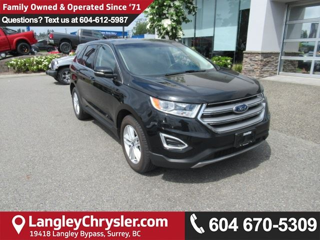 2016 FORD EDGE SEL *ONE OWNER*LOCAL BC SUV* in Surrey, British Columbia