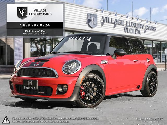 2013 MINI COOPER John Cooper Works NEW TIRES | NAVIGATION | LEATHER | 6 SPEED in Markham, Ontario