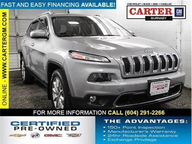 2015 JEEP CHEROKEE Limited in Burnaby, British Columbia