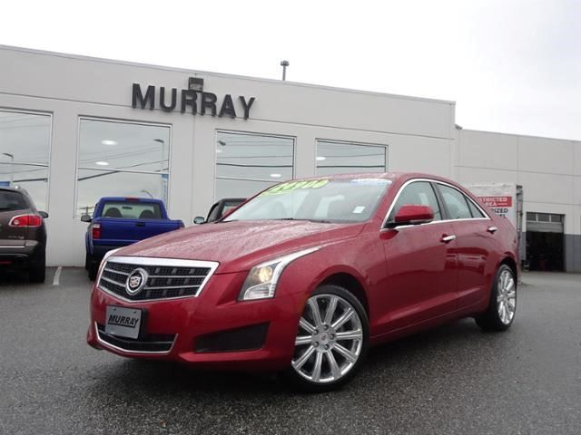 2014 CADILLAC ATS Luxury AWD in Abbotsford, British Columbia