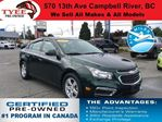 2015 Chevrolet Cruze 2LT in Campbell River, British Columbia