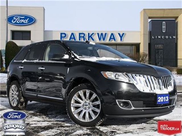 2013 LINCOLN MKX AWD   ACCIDENT FREE  $210 BIWEEKLY in Waterloo, Ontario
