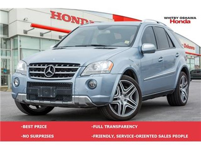 2009 MERCEDES-BENZ M-CLASS ML63 AMG in Whitby, Ontario