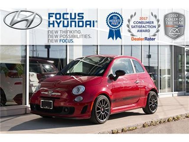 2013 FIAT 500 Abarth Hatch in Winnipeg, Manitoba