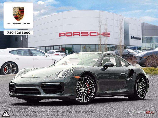 2017 PORSCHE 911 CERTIFIED PRE-OWNED | RARE Graphite Blue/Chalk | AWD | 18-way Seats in Edmonton, Alberta