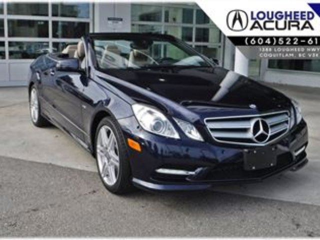 2012 MERCEDES-BENZ E-CLASS E350 in Coquitlam, British Columbia