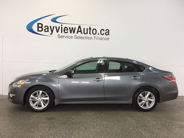2015 NISSAN ALTIMA SV- 2.5L SUNROOF ALLOYS HTD STS REV CAM BLUETOOTH! in Belleville, Ontario