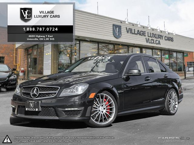 2013 MERCEDES-BENZ C-CLASS NEW CAR TRADE IN   NEW TIRES   CLEAN CARPROOF in Markham, Ontario