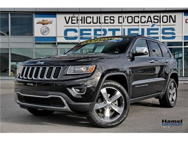 2016 JEEP Grand Cherokee 4X4 TOIT OUVRANT+NAVIGATION+CUIR+ JANTES ALU 20'' in Montreal, Quebec