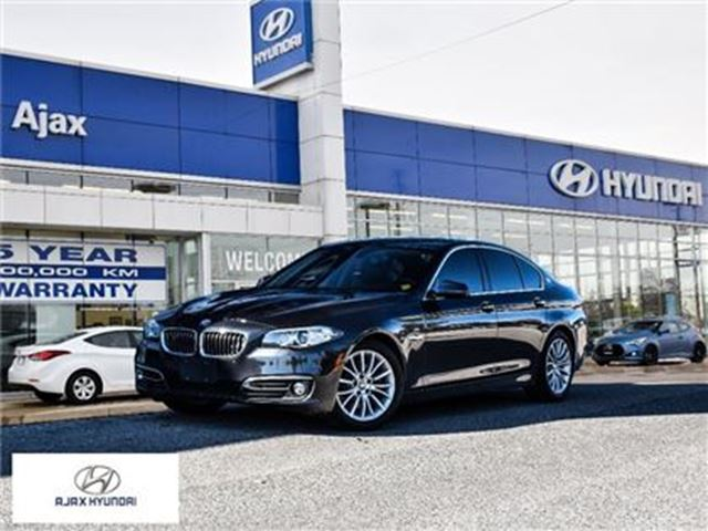 2014 BMW 5 SERIES xDrive Sunroof Leather Navigation in Ajax, Ontario