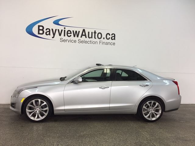 2014 CADILLAC ATS PERFORMANCE- AWD|3.6L|ROOF|HTD LTHR|NAV|BOSE! in Belleville, Ontario