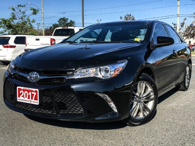used 2017 toyota camry se sport heated seats cobourg. Black Bedroom Furniture Sets. Home Design Ideas