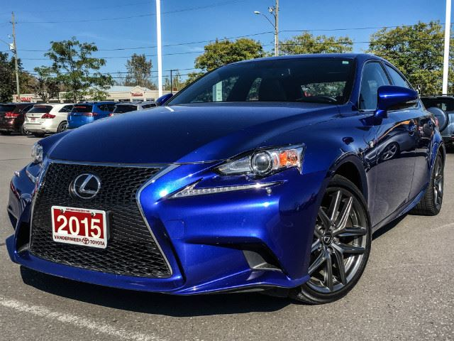 2015 LEXUS IS 250   F SPORT 2-NAVIGATION-SUNROOF! in Cobourg, Ontario