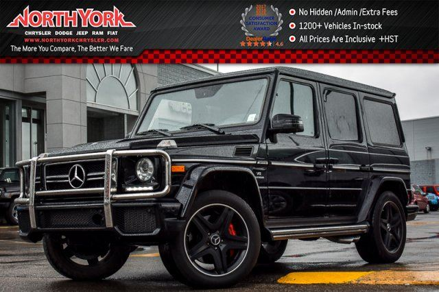 2015 MERCEDES-BENZ G-Class G63 AMG AWD BlindSpot H/K Audio Sunroof 20Alloys in Thornhill, Ontario