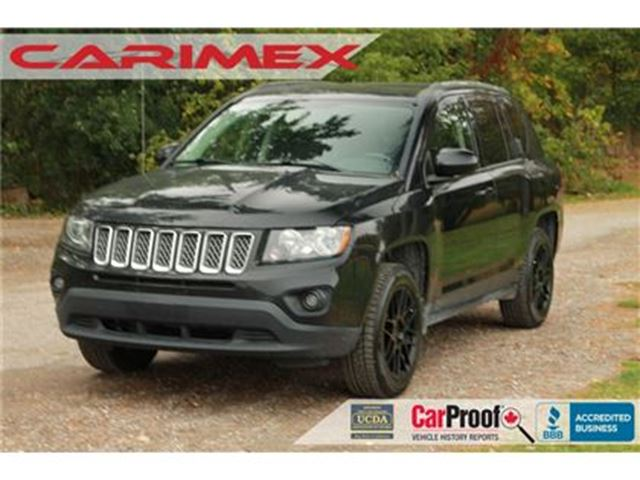 2015 JEEP COMPASS Sport/North 4x4   Heated Seats   CERTIFIED in Kitchener, Ontario