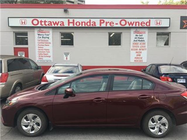 2015 HONDA Civic LX in Ottawa, Ontario