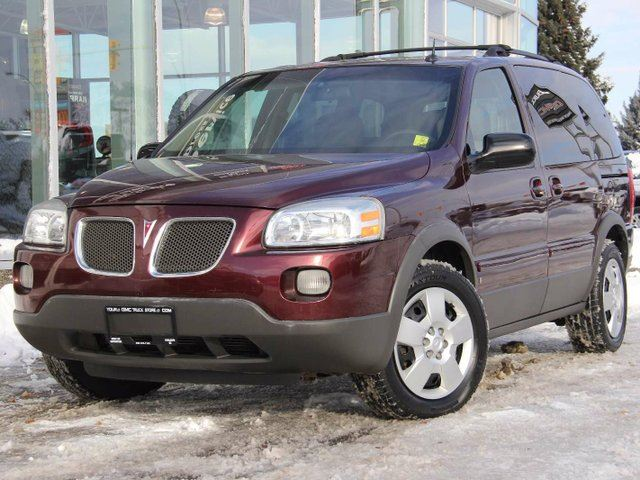 2006 PONTIAC MONTANA SV6 4DR EXT WB W/1SC in Kamloops, British Columbia