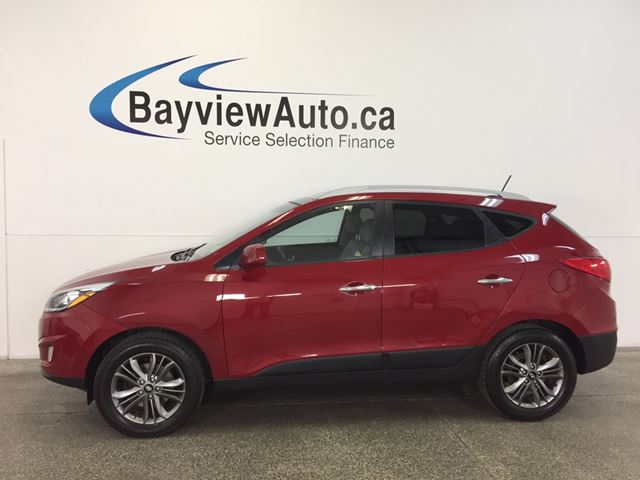2015 HYUNDAI TUCSON - AWD|PANOROOF|HTD STS|REV CAM|BLUETOOTH|CRUISE! in Belleville, Ontario