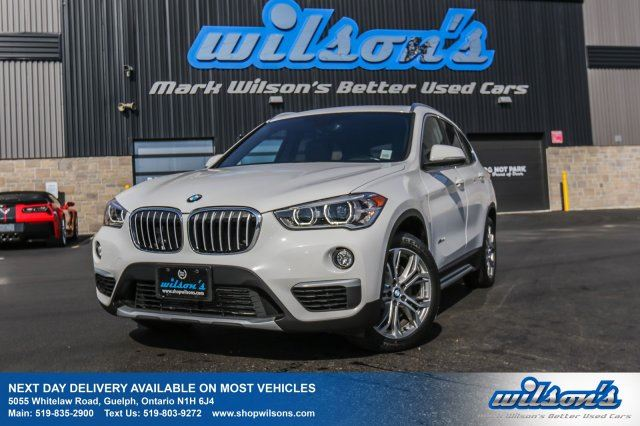 2017 BMW X1 XDRIVE 28i AWD! LEATHERETTE! PANO SUNROOF! 360 REAR CAMERA! HEATED SEATS! PWR+MEMORY SEAT! in Guelph, Ontario