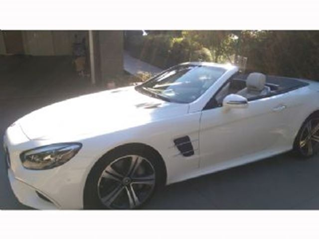 2017 mercedes benz sl class 2dr roadster sl 450 white for Mercedes benz loyalty discount