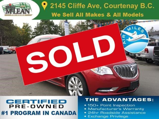 2013 BUICK ENCLAVE Premium in Courtenay, British Columbia