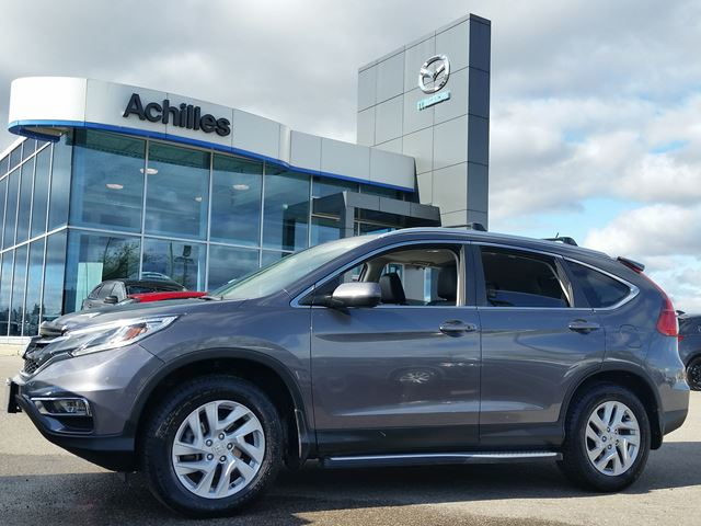 2016 Honda CR-V EX-L, Alloys, Moonroof, Leather in Milton, Ontario