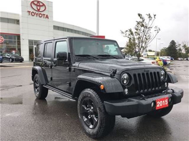 2015 JEEP WRANGLER Unlimited *SALE PENDING*X - Rare X Games Edition in Stouffville, Ontario