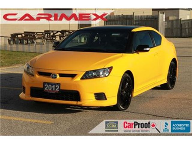 2012 SCION TC Base TRD   Sunroof   Bluetooth    CERTIFIED in Kitchener, Ontario