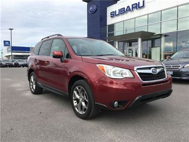 2016 SUBARU FORESTER 2.5i Limited Package in Kingston, Ontario