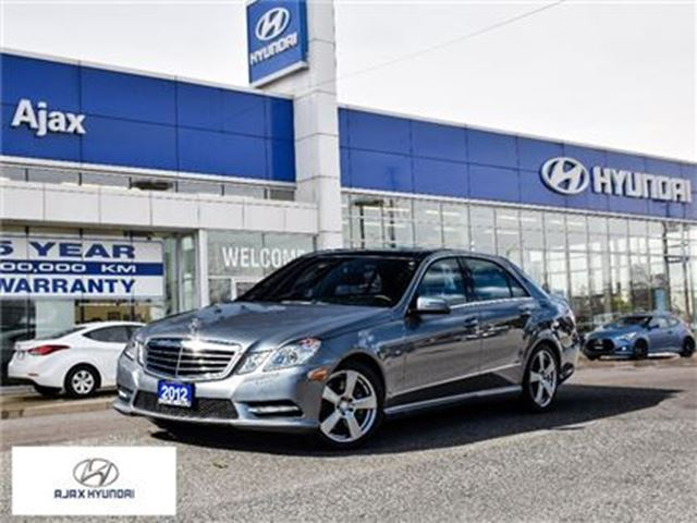 2012 MERCEDES-BENZ E-CLASS E350 4Matic Leather Sunroof Navi Winter Tires in Ajax, Ontario
