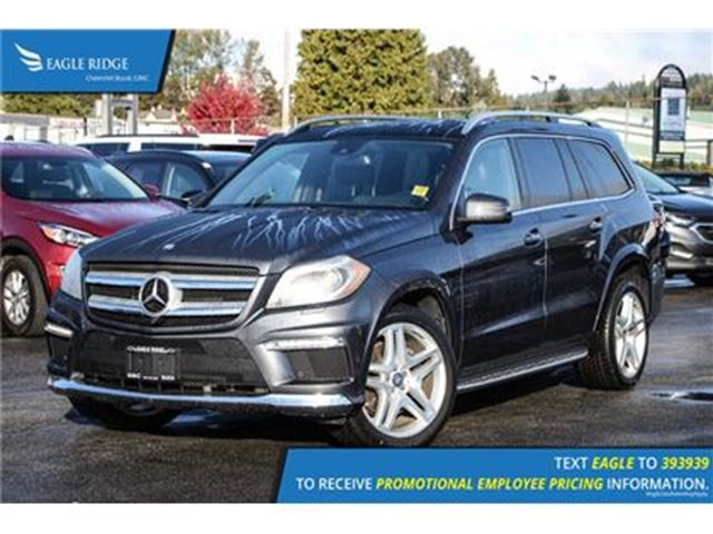 2013 MERCEDES-BENZ GL-CLASS Base Navigation, Sunroof, and Heated Seats Navigat in Coquitlam, British Columbia
