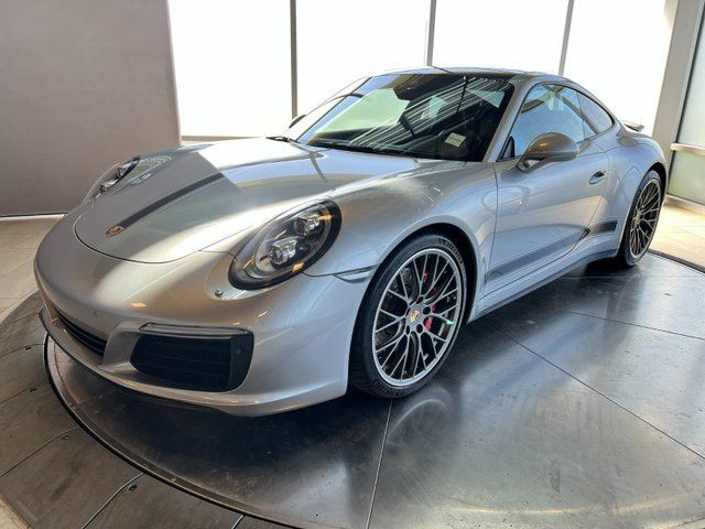 2017 PORSCHE 911 CERTIFIED PRE-OWNED | Premium PLUS | Sport Chrono, Sport Exhaust | AWD in Edmonton, Alberta